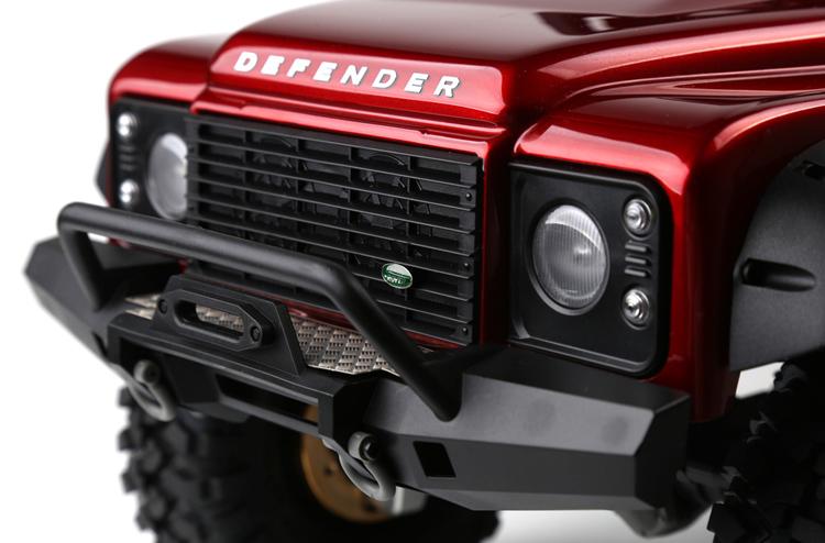 Für Land Rover DEFENDER Traxxas TRX4 Auto GRC Edelstahl Kühlergrill Emblem Badge