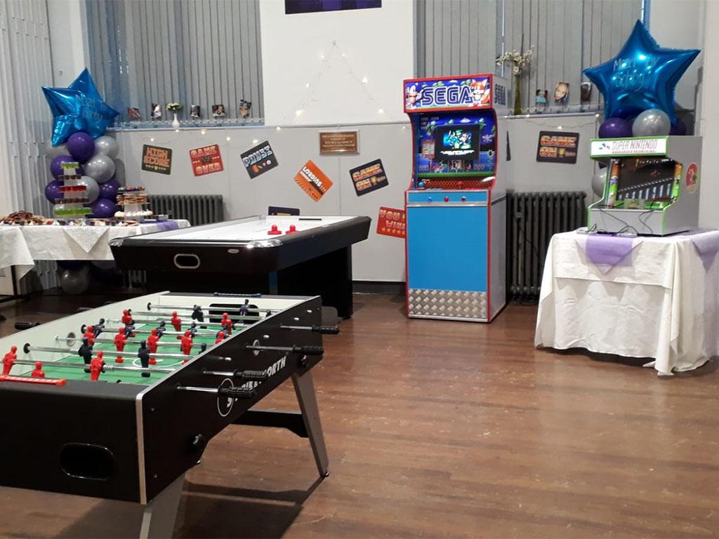 Arcade Games Bar Mitzvah