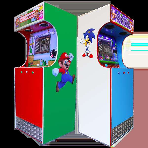 Arcade Cabinets nintendo sega