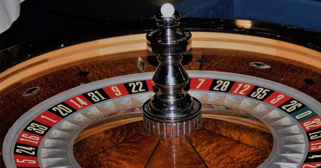 roulette wheel casino close up
