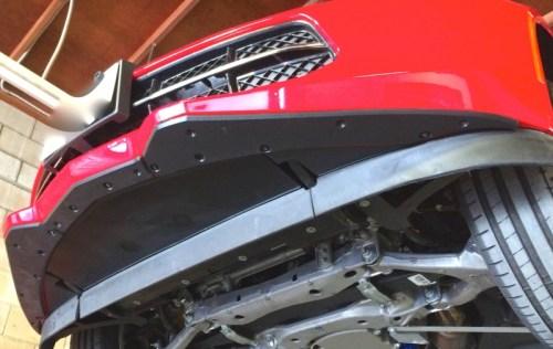 ProTEKt 14-19 Chevrolet Corvette C7 Stingray Custom Fit Front Bumper Skid Plates, 9-CECOBS0-140