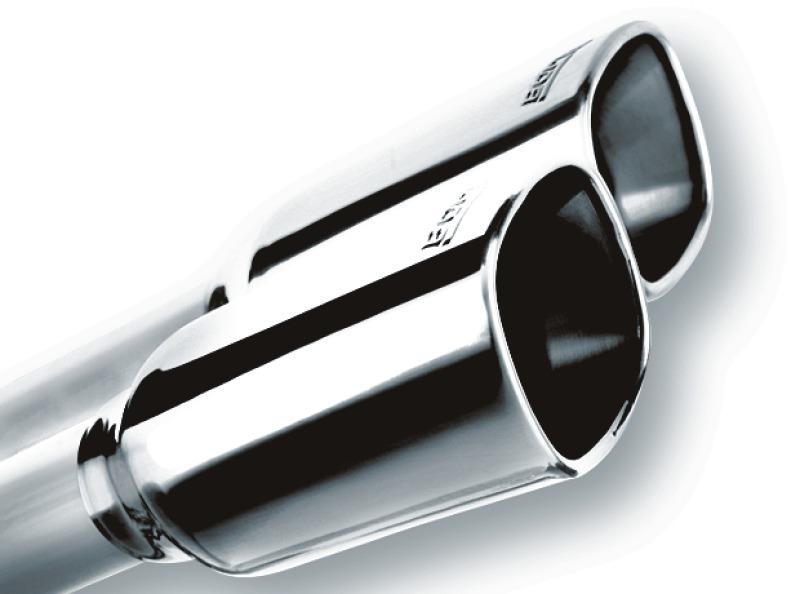 borla 19 chevrolet silverado gmc sierra 1500 6 2l ss atak catback exhaust square chrome tips 140784