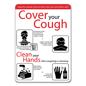 Colored-Plastic-Signs-Cover-Your-Cough