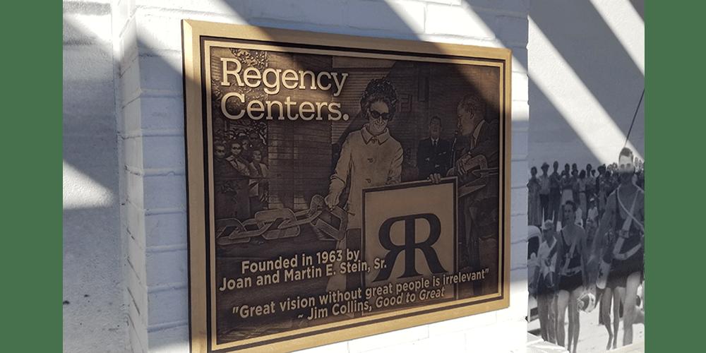 Plaques-Regency-Centers