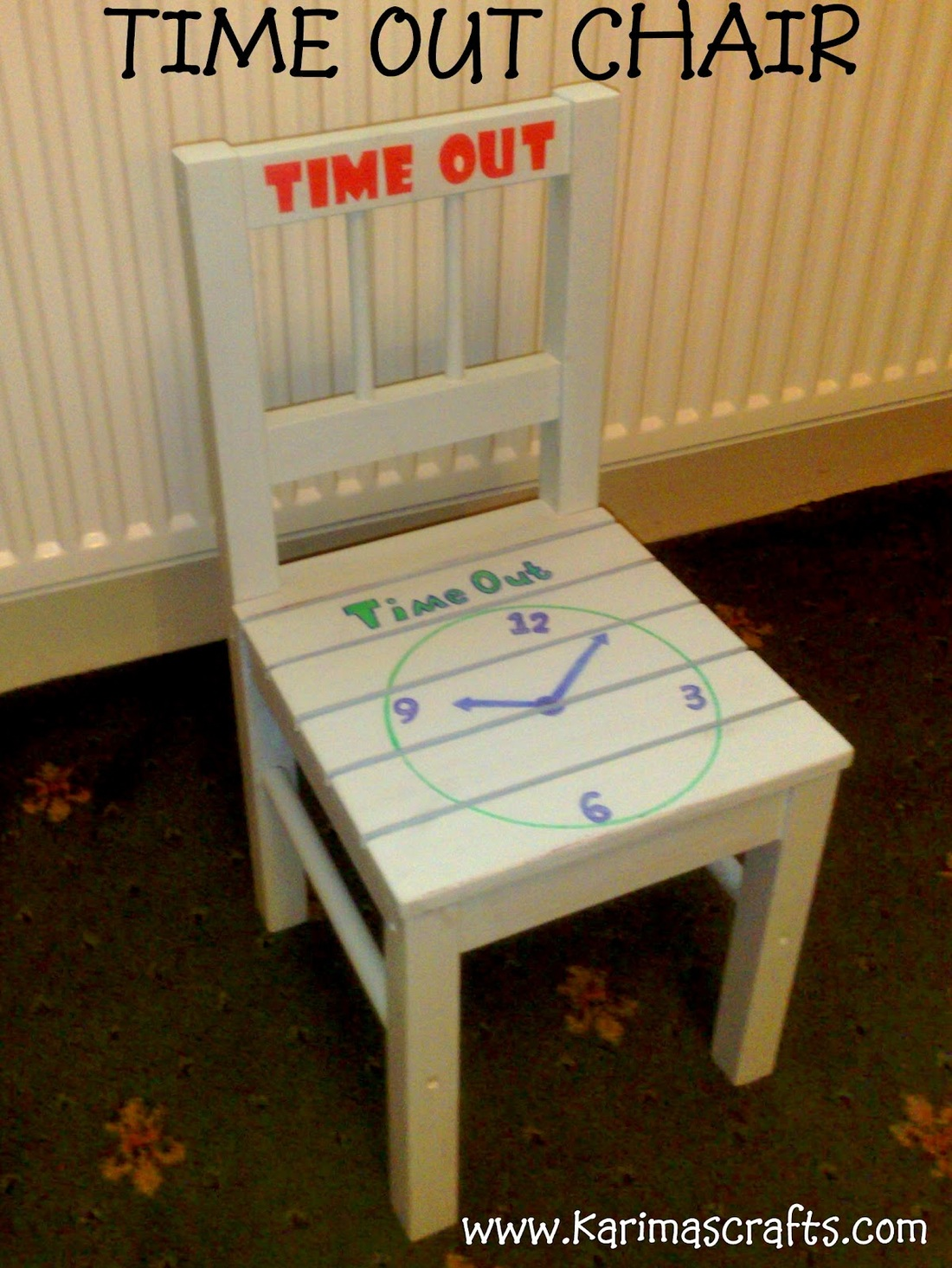 kids time out chair conference room positive responsive classroom