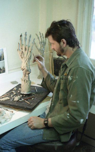 Sculpting Jason's Hand