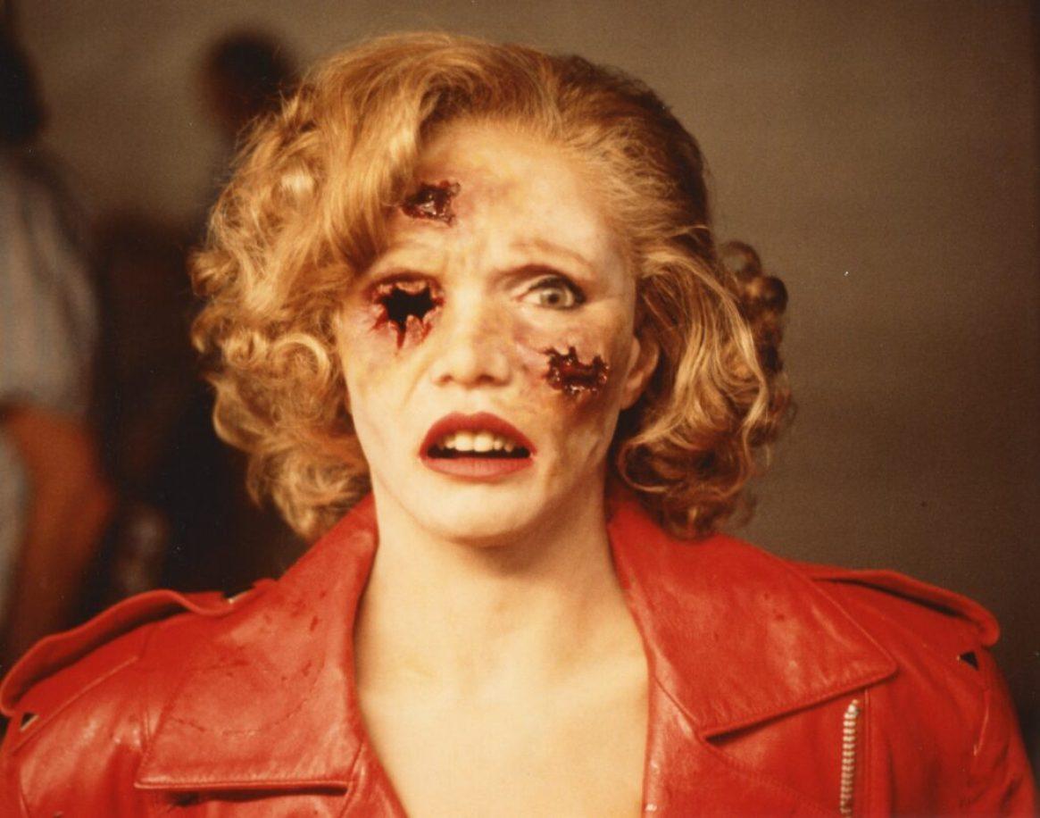 """""""Eve of Destruction"""" Bullet hit head, Renée Soutendijk"""