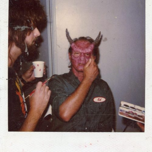Tracy Walters as a demon, some Low Budget horror film