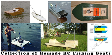 Remote Control Fishing Boat