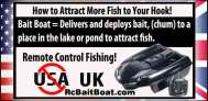 Where's Your Remote Control Bait Boat-How to Attract More Fish to Your Hook!