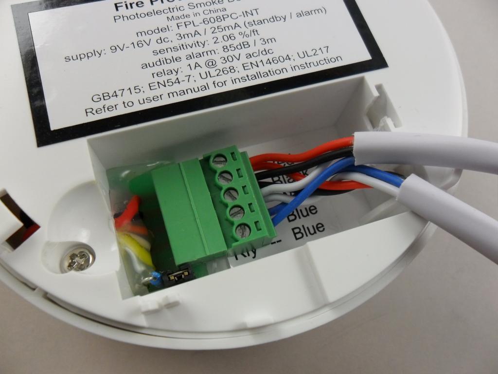 wiring diagram for mains smoke alarms krone detectors  pmb nz rcbeacon