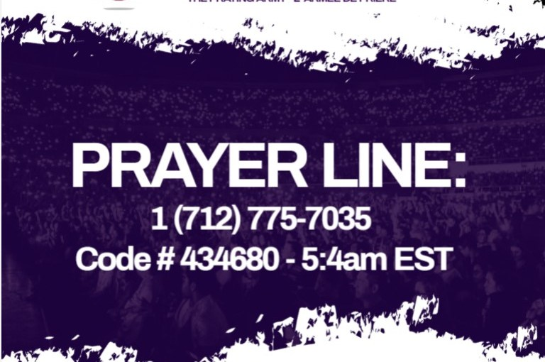 QC1 Pastors Telephone Prayer Conference Jan