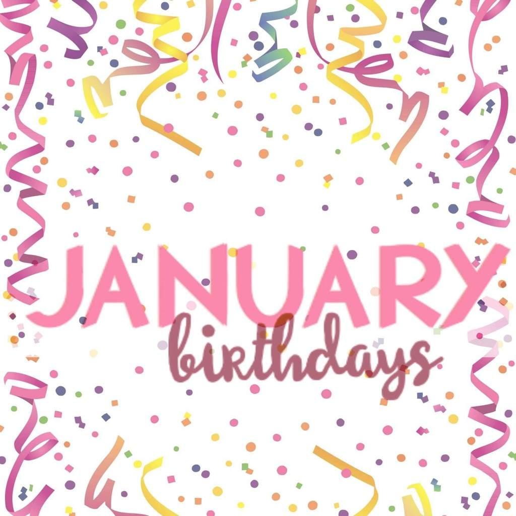 photo January Birthday Images january birthday