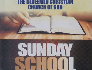 RCCG SUNDAY SCHOOL TEACHERS MANUAL 2020