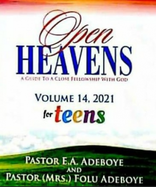 OPEN HEAVEN FOR TEENS 26 FEBRUARY 2021