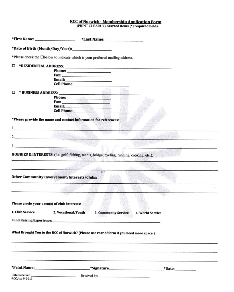 norwich-rcc-membership-form