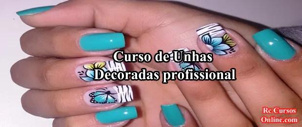 Curso de unhas decoradas profissional