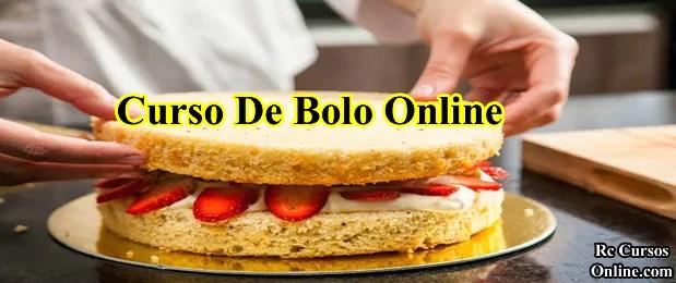 Curso de bolos online