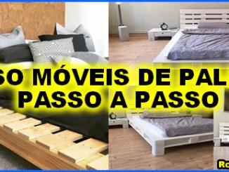 curso moveis de paletes passo a passo - Curso Móveis de Paletes (móveis feito com paletes).