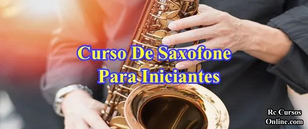 Curso De Saxofone  Para Iniciantes