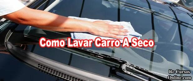 Curso De Como Lavar Carro A Seco