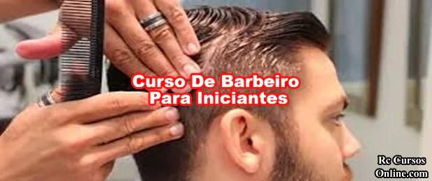 Curso de barbeiro para iniciantes