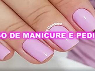 Curso de manicure e pedicure, com certificado.