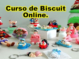 211 curso de biscuit como fazer biscuit - Curso De Biscuit Como fazer Peças De Biscuit.