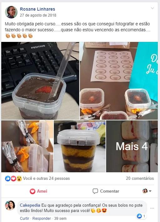 curso bolos no pote funciona depoimento 1 - Curso Bolos No Pote Lucrativos Funciona Mesmo?