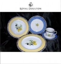 Royal Doulton Carmina Cucina Fine Porcelain 5 Piece Place ...