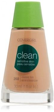 covergirl clean sensitive skin