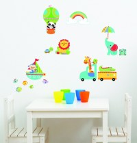 Fisher-Price Rainforest Nursery Wall Stickers. Shipping ...