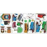 THOMAS and FRIENDS TANK ENGINE WALL STICKERS Kids Decor ...