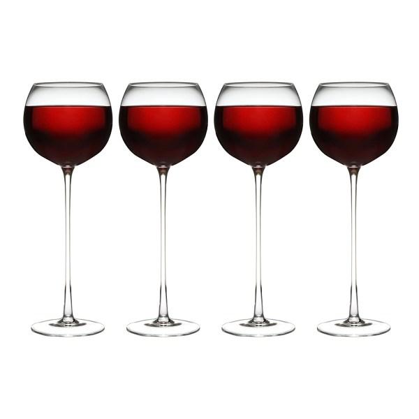 Set Of 4 Long Stem Wine Glass 11street Malaysia - Barware