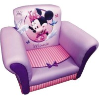 Minnie Mouse Upholstered Chair by Delta