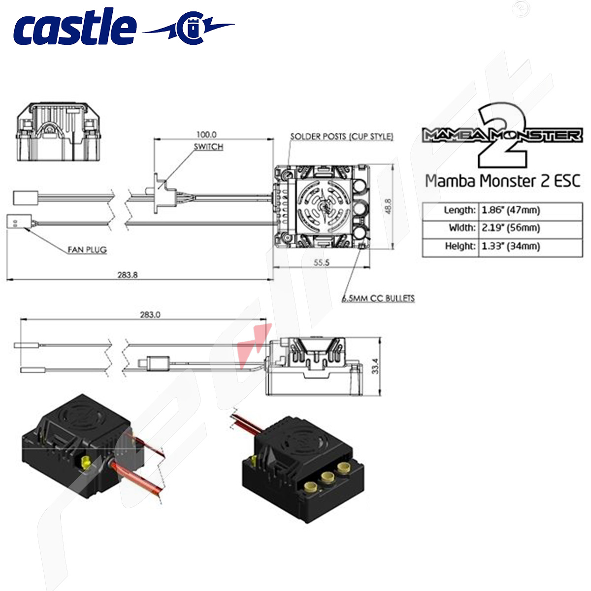 Mamba Monster Wiring Diagram Fitness Run For Your Life Hight Resolution Of Castle 2