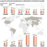 """El FMI alerta se """"avecinan tormentas"""" en la economía mundial"""
