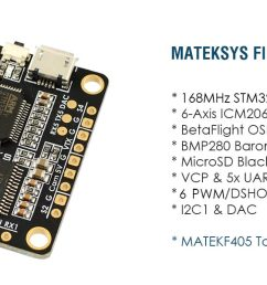 let s talk about the most likely fc to be the new official target for bi and tricopters the matek 405 std and the fchub w pdb  [ 1500 x 600 Pixel ]