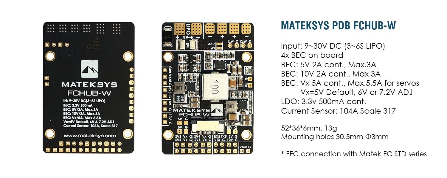 hight resolution of this combination will offer quite a lot of flexibility as you have all kinds of bec voltages and pretty good pinout capabilities