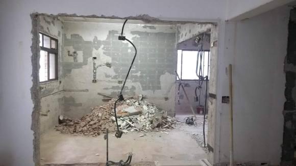 Dutos em paredes