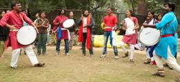 RCF, Kabir Kala Manch and Republican Panthers performing in DU
