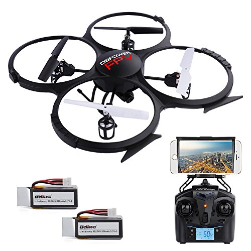 udi u818a verbesserte wifi fpv drohne mit 2mp hd kamera app steuern rc quadrocopter kopflosmodus. Black Bedroom Furniture Sets. Home Design Ideas