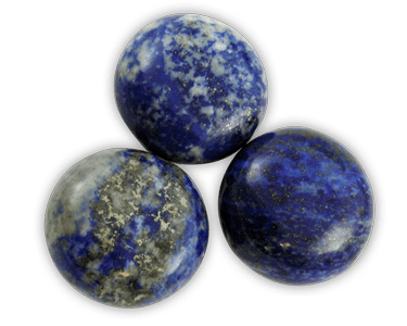 Elegance door knob and cabinet knobs are available in a variety of crystal and natural quartz materials including Lapis Lazuli.