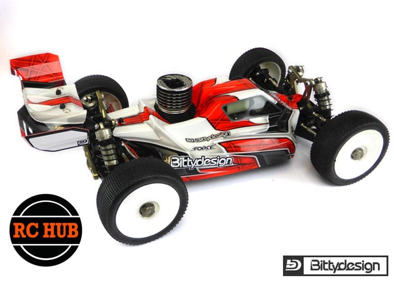 RC-HUB Force Clear body for TLR 8ight 15
