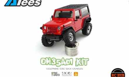 RUBICON JEEP CRAWLING IN 1:35 STYLE