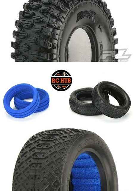 MOUNT UP…….SOME PRO-LINE TIRES