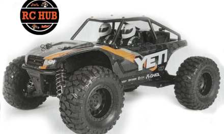 TINY IS IN…. AXIAL YETI JR ROCK RACER