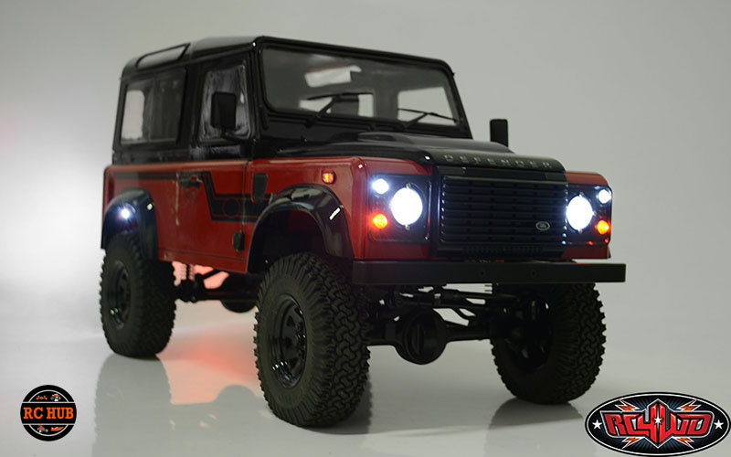 BASIC LIGHTING SYSTEM FOR 2015 LAND ROVER DEFENDER D90
