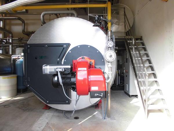 chaufferie vapeur industrielle