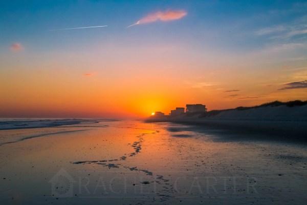 Sunset Topsail Island Rachel Carter Images RCI Plus Topsail